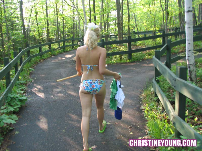 Congratulate, Christine young outdoors question